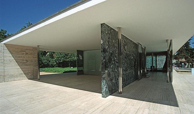 File:Barcelona mies v d rohe pavillon weltausstellung1999 03.jpg