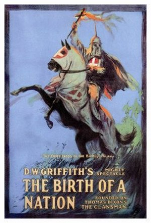 A color poster of the movie The Birth of a Nation