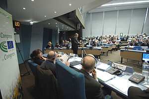 Session of the Chamber of Local Authorities