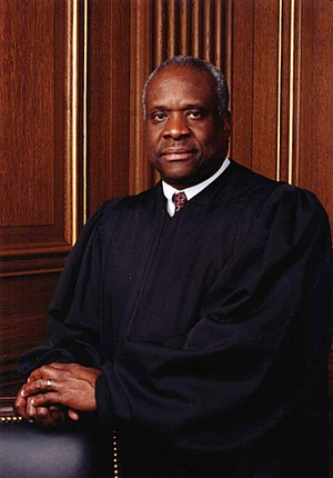 Clarence Thomas, an alumnus of Holy Cross, for...