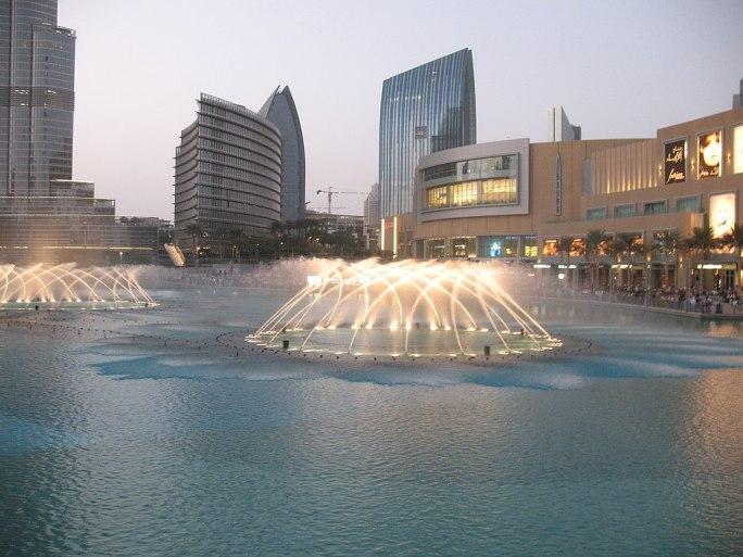 Dubai Fountain 4