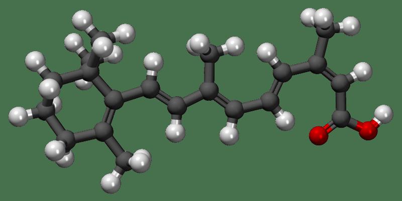 File:Isotretinoína3D.png
