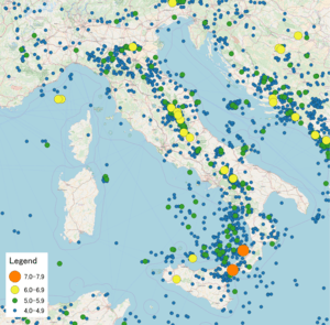 List of earthquakes in Italy - Wikipedia