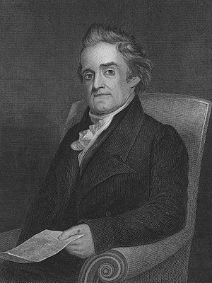 Engraving of Noah Webster, from the frontispie...