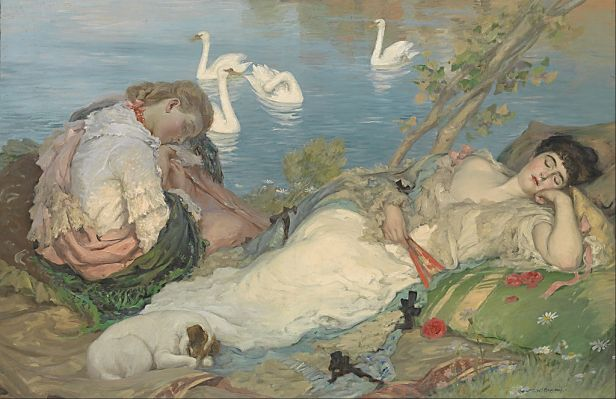 """Endormies"" by Rupert Bunny"