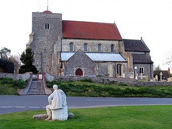 English: Thoughtful Reflection: Steyning (West...