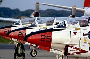 US Navy 050802-N-0295M-323 T-2C Buckeye aircra...