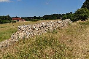 English: Venta Icenorum, near to Caistor st Ed...