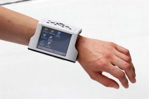 Image of the ZYPAD wrist wearable computer fro...