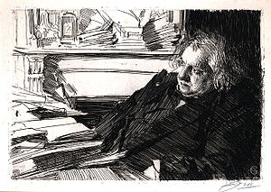 English: Portrait of the French philosopher an...