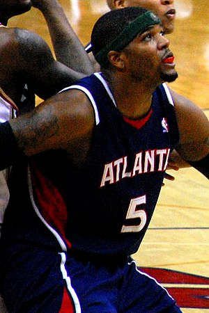 Josh Smith of the Atlanta Hawks