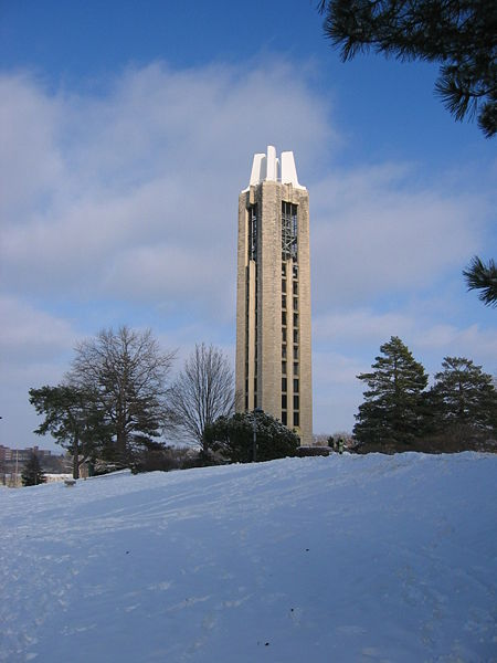 Memorial Campanile, the University of Kansas, Lawrence, Kansas
