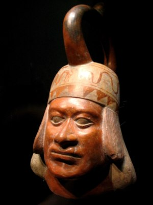 Moche portrait vessel  Wikipedia