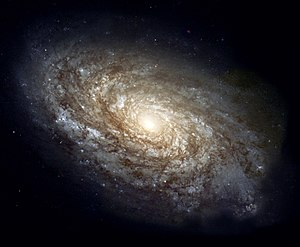 Galaxies are so large that stars can be consid...