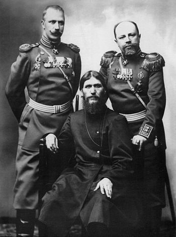 Grigory Rasputin, Major General Putyatin and C...