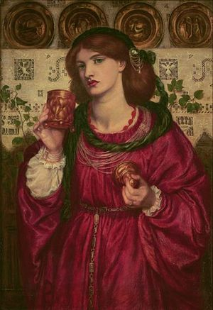 Rossetti The Loving Cup