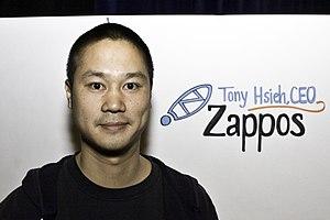tony hsieh, ceo, zappos.com
