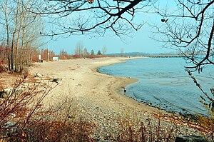 English: Beach Ward's Island Toronto Islands 2009