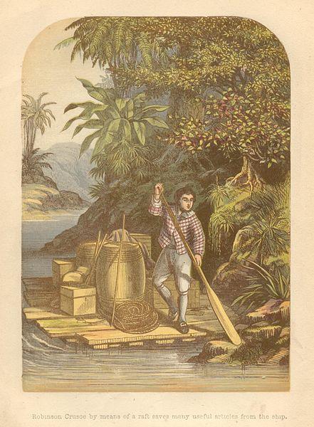 Angeblich kein Mensch: Robinson Crusoe