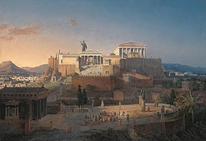 Reconstruction of the Acropolis and Areus Pagu...