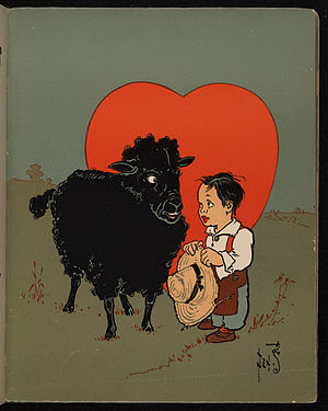 The Black Sheep, from a 1901 edition of Mother...