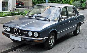 BMW 5 series (E12)