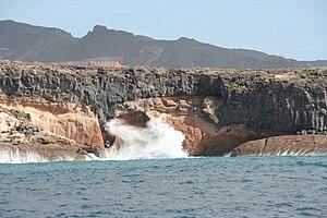 Costa Adeje viewed from Freebird catamaran
