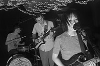 Deerhoof in 2004.