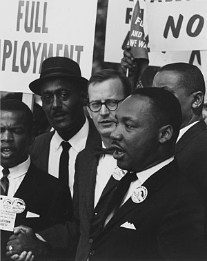 Dr. Martin Luther King, Jr., president of the ...