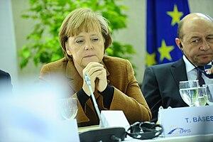 Merkel, Băsescu