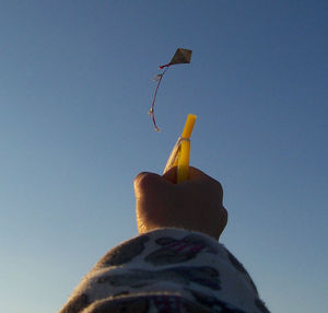 Eddy or Cross or Malay or Diamond toy kite wit...