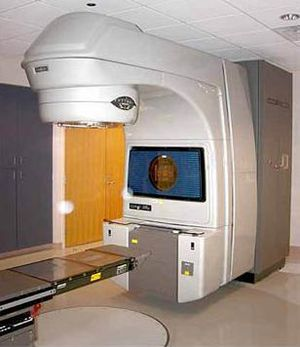 Photo of linear accelerator