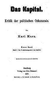 Karl Marx, Das Kapital