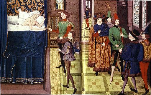 Mort de Dagobert (639)
