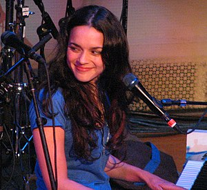 Norah Jones at Bright Eyes at Town Hall 29 May...