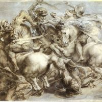 """The Battle of Anghiari"" by Peter Paul Rubens - Copy of Leonardo da Vinci's  Lost Painting"