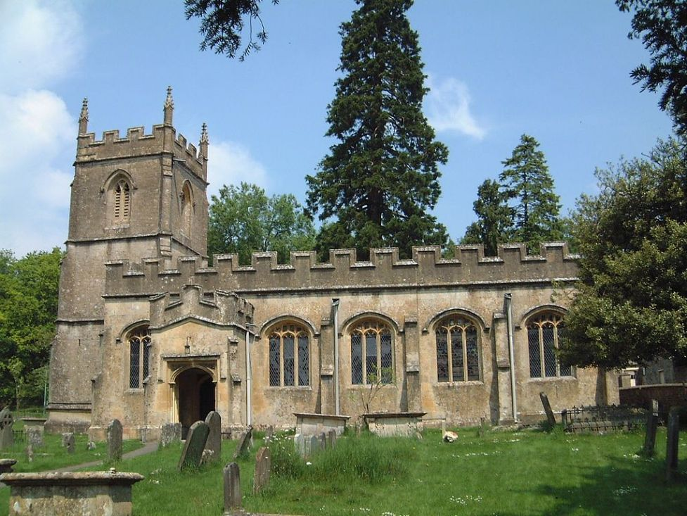 Photo of St Peter's Church, Rendcomb, Gloucestershire