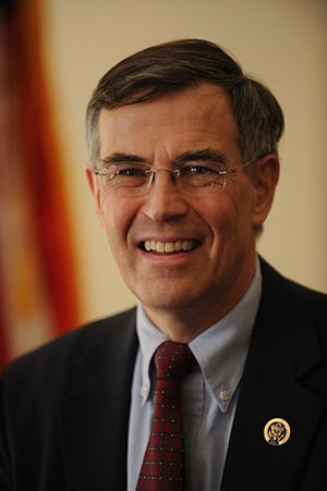 English: Official photo of Rep Rush Holt