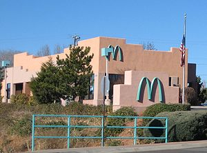 The McDonald's in Sedona, Arizona is the only ...