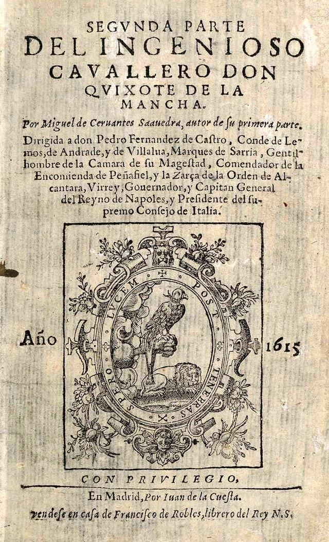 Cervantes, inmortal