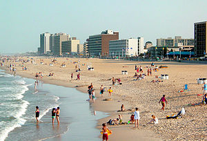 Virginia Beach, largest city and part of large...