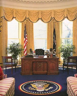 White House Oval Office during the administrat...