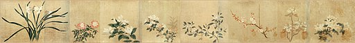 15 Qian Xuan Eight Flowers National Palace Museum Beijing