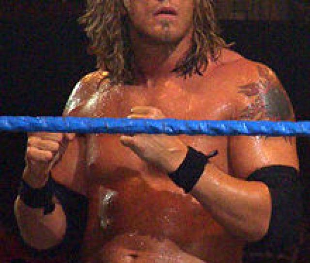 Edge Who Competed In The Triple Threat Match For The Wwe Championship