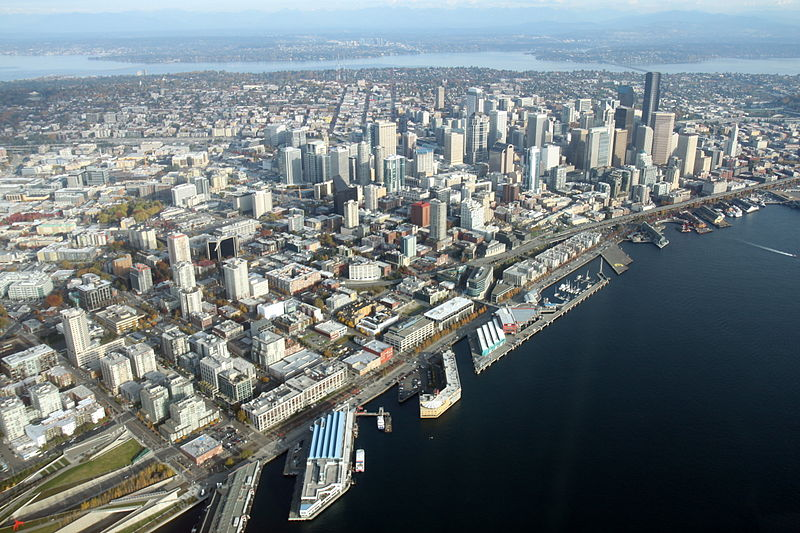File:Aerial Downtown Seattle November 2011 - 2.jpg