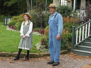 Actors at the Anne of Green Gables museum in C...