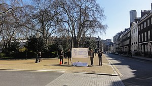 English: Four people from the '40 Days for Lif...
