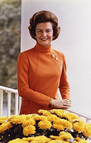 Betty Ford, former First Lady of the United St...