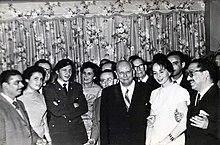 Raúl Castro with Salvador Allende, 1959