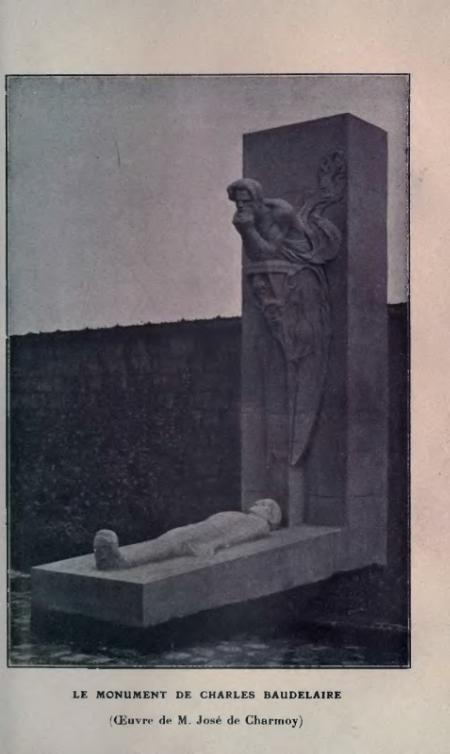 Excellent Le Monument De Charles Baudelaire With Fauteuil
